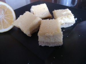 Honey + Stevia Sweetened Meyer Lemon Bars