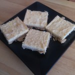 Stevia Sweetened Meyer Lemon Bars