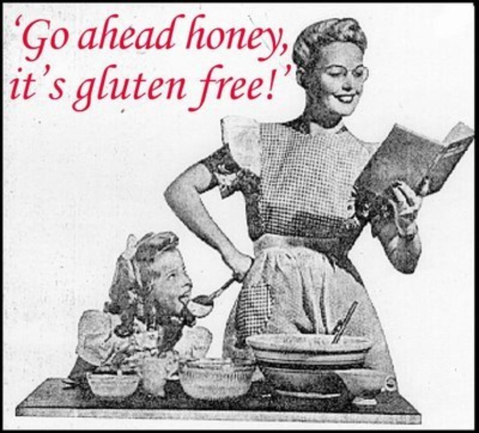 Go ahead... it's gluten free