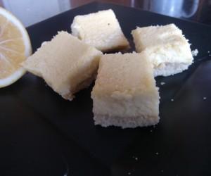 Sugar Free Meyer Lemon Bars