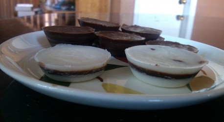 Sugar-Free Coconut Peppermint Patties (I mean Peppermint Paddies)
